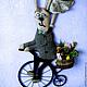 """Детская ручной работы. Панно """"Семейство Зайцевых"""". Оксана (ok2011). Интернет-магазин Ярмарка Мастеров. Предмет интерьера, панно настенное"""