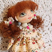 Куклы и игрушки ручной работы. Ярмарка Мастеров - ручная работа Игровая кукла Алиса. Текстильная кукла.. Handmade.