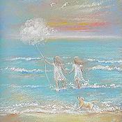 Картины и панно ручной работы. Ярмарка Мастеров - ручная работа Море.Бриз.Счастье. Handmade.