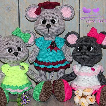 Куклы и игрушки ручной работы. Ярмарка Мастеров - ручная работа Мышка Юшка.. Handmade.