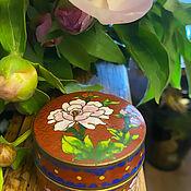Винтаж handmade. Livemaster - original item Country of Pionia. Box cloisonne. China. mid-twentieth century. Handmade.