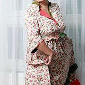 Одежда handmade. Livemaster - original item Boho set dress with beret. Handmade.