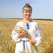 Русский стиль handmade. Livemaster - original item Slavic folk dress