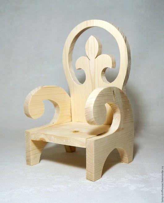 Кукольный дом ручной работы. Ярмарка Мастеров - ручная работа. Купить Кресло для куклы (2). Handmade. Комбинированный, мебель для Барби
