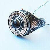 Украшения handmade. Livemaster - original item Ring-signet: Men`s ring with rauchtopaz. Handmade.