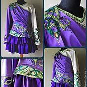 Одежда ручной работы. Ярмарка Мастеров - ручная работа Платья для ирландских танцев сольные. Handmade.