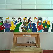 """Для дома и интерьера ручной работы. Ярмарка Мастеров - ручная работа панно """"подиум"""". Handmade."""