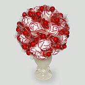 Цветы и флористика handmade. Livemaster - original item The flowers of the coral