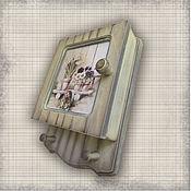 Для дома и интерьера ручной работы. Ярмарка Мастеров - ручная работа Ключница  Дачная (ключница - шкафчик). Handmade.