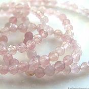 handmade. Livemaster - original item Beads: Rose quartz 10 pieces. Handmade.