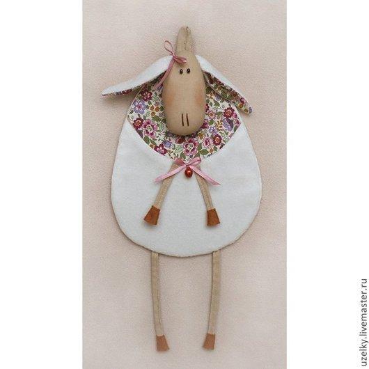 """Куклы и игрушки ручной работы. Ярмарка Мастеров - ручная работа. Купить Набор для изготовления игрушки """"Овечка"""". Handmade. Бежевый"""