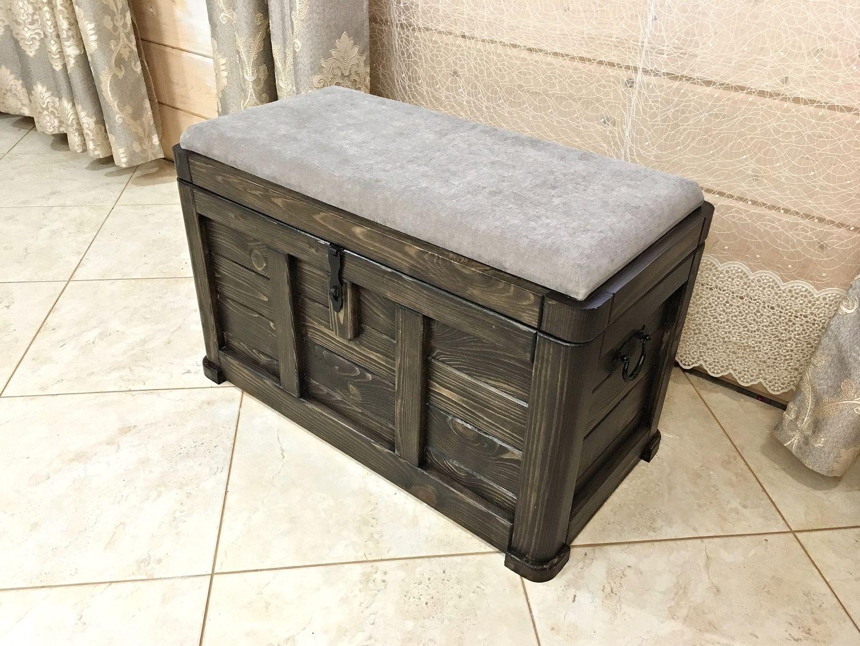 Банкетка-сундук с местом для хранения, комод в прихожую, Комоды, Сергиев Посад,  Фото №1