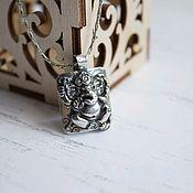Украшения handmade. Livemaster - original item GANESHA silver pendant. Handmade.