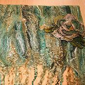 Аксессуары ручной работы. Ярмарка Мастеров - ручная работа Палантины и шарфики. Handmade.