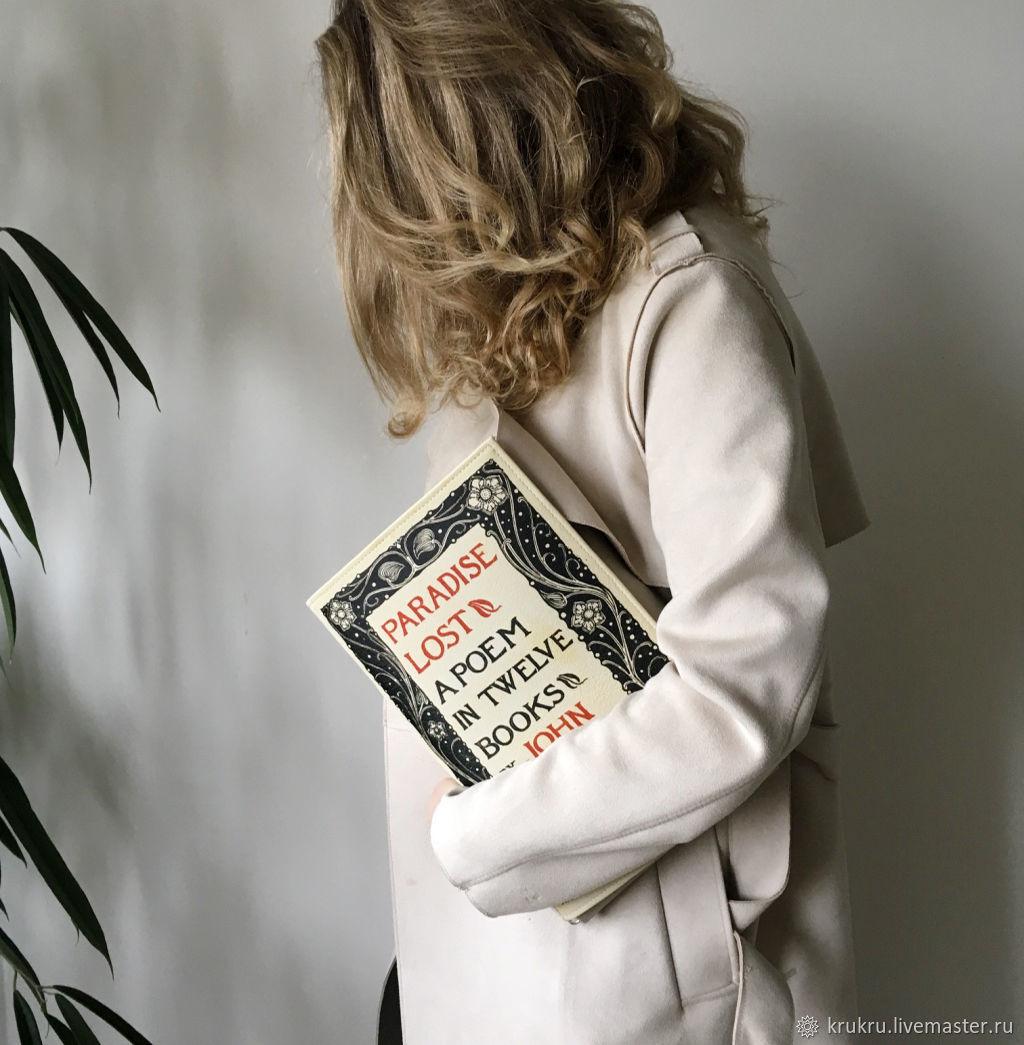 Мильтон. Потерянный рай. Сумка из кожи или экокожи, Сумка через плечо, Москва,  Фото №1