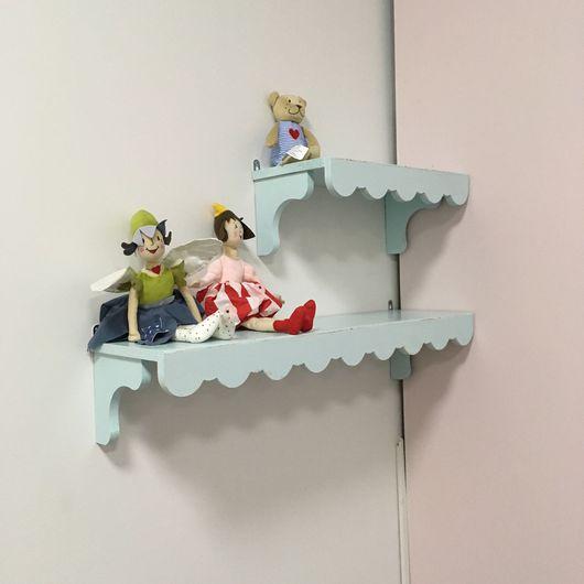 Детская ручной работы. Ярмарка Мастеров - ручная работа. Купить Полочка на стену, комплект. Handmade. Детская мебель, детская