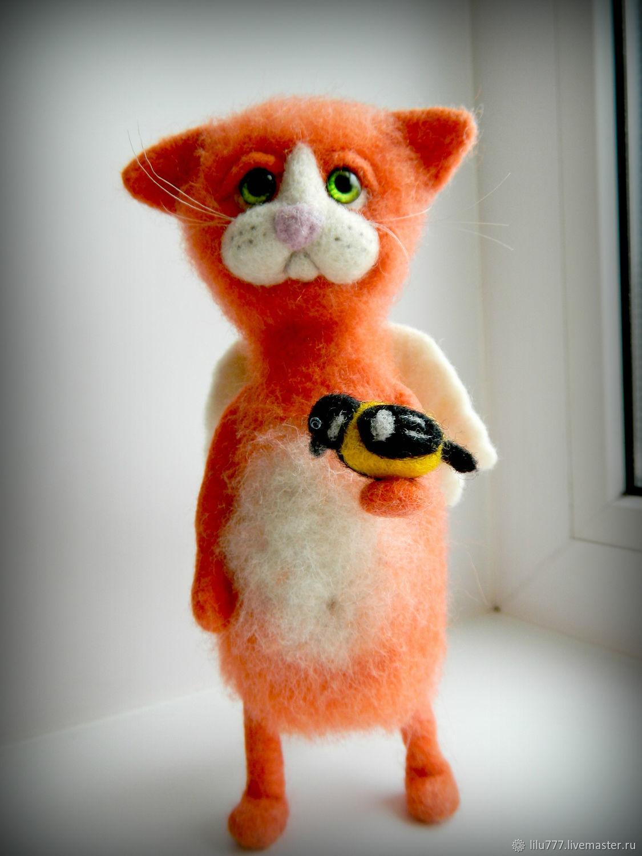 Cat 'Red angel', Stuffed Toys, Ufa,  Фото №1