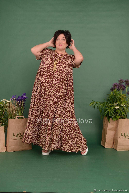 Dress short sleeve longline top. Art. 3546, Dresses, Kirov,  Фото №1