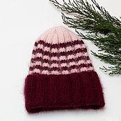 Аксессуары handmade. Livemaster - original item Caps: Hat female knitted