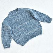 Одежда детская handmade. Livemaster - original item Children`s knitted jumper for height 80 cm. Handmade.