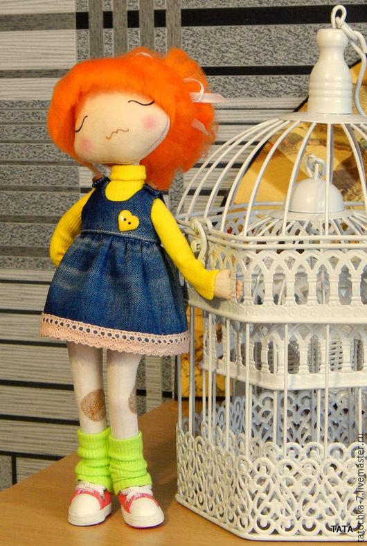 Куклы тыквоголовки ручной работы. Ярмарка Мастеров - ручная работа. Купить КУКЛА - ВЫБРАЖУЛЯ. Handmade. Комбинированный, интерьерная кукла