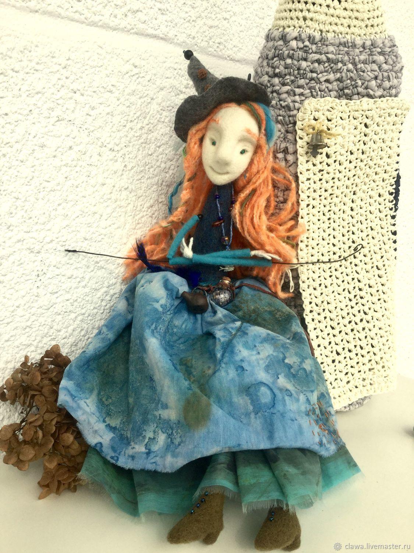 Felt puppet 'Margaret', Dolls, Plovdiv,  Фото №1