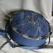 Сумки и аксессуары handmade. Livemaster - original item Bag denim