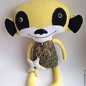 Мягкие игрушки ручной работы. Ярмарка Мастеров - ручная работа Сурикат Тимоня. Handmade.
