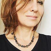 Украшения handmade. Livemaster - original item miniature necklace or bracelet winding of labradorite.. Handmade.