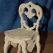 Материалы для творчества handmade. Livemaster - original item Doll high chair.992.. Handmade.