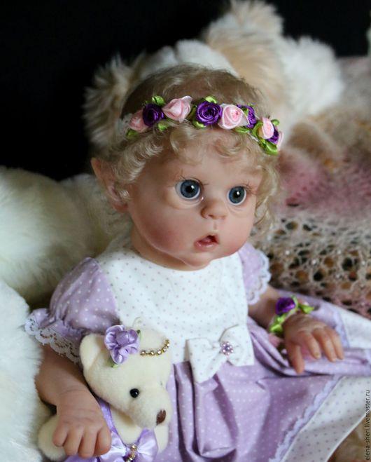 Куклы-младенцы и reborn ручной работы. Ярмарка Мастеров - ручная работа. Купить Офелия  «Ofelia». Handmade. Бежевый, Виниловая заготовка