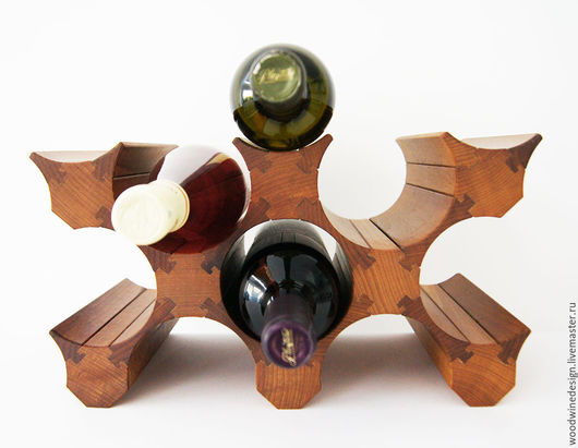 Винный стеллаж на 8 бутылок вина