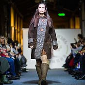 Одежда handmade. Livemaster - original item Coat felted from natural wool, 42-46 p.. Handmade.