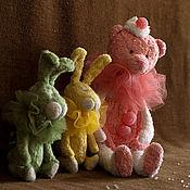 Сахарно - мармеладные медведи  и зайцы