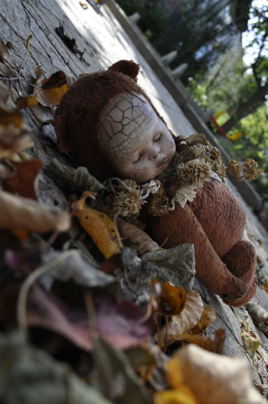 Авторские работы Марии Морозовой. Коллекционные игрушки. Тедди-долл.