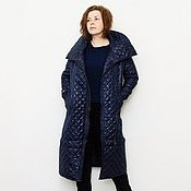 Одежда handmade. Livemaster - original item Demi season quilted coat Francisca. Handmade.