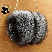 Аксессуары handmade. Livemaster - original item Fur clutch - bag Fox fur. Stylish ladies accessory-1. Handmade.