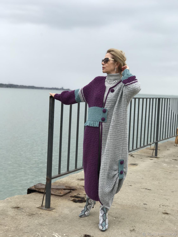 """Кардиган -пальто """" Этюд"""" авторское, Кардиганы, Керчь,  Фото №1"""