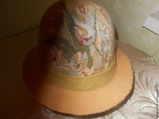 Шляпы ручной работы. Ярмарка Мастеров - ручная работа. Купить Модель №26 Пастель. Handmade. Бежевый, ручная работа handmade