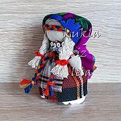 Русский стиль ручной работы. Ярмарка Мастеров - ручная работа Сувенирная кукла, кукла в удмуртском костюме 7 см, народная кукла. Handmade.