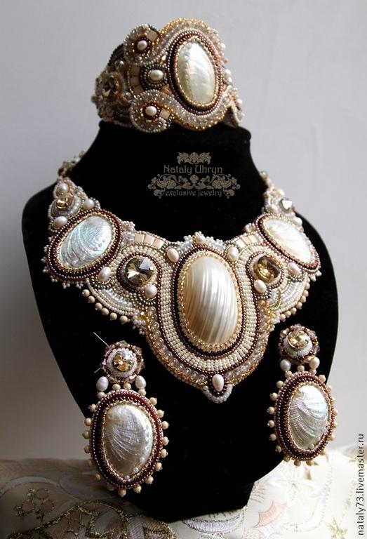 Jewelry Sets handmade. Livemaster - handmade. Buy a set of 'Elizabeth II' ( three options).