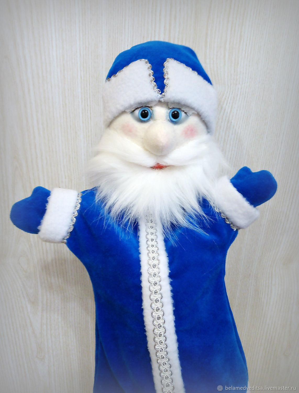 Дед Мороз детская перчаточная кукла. Театр кукол, Кукольный театр, Рыбинск,  Фото №1
