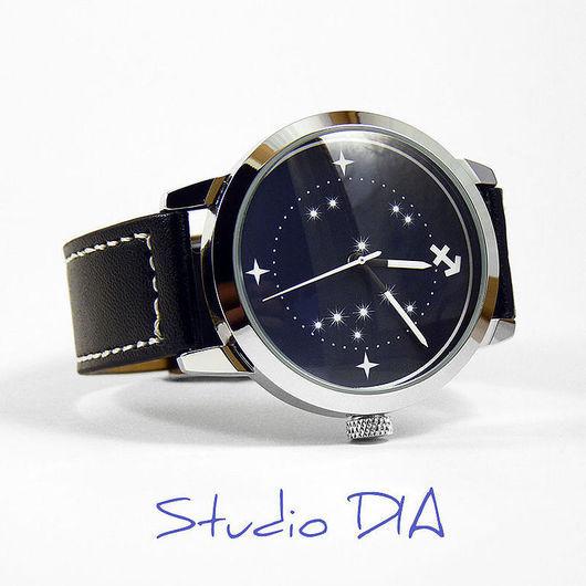 Дизайнерские Часы Знак Зодиака Стрелец. Студия Дизайнерских Часов DIA.