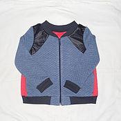Одежда ручной работы. Ярмарка Мастеров - ручная работа Бомбер детский. Handmade.