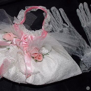 Свадебный салон ручной работы. Ярмарка Мастеров - ручная работа Свадебная сумочка из белого гипюра Лотта. Handmade.