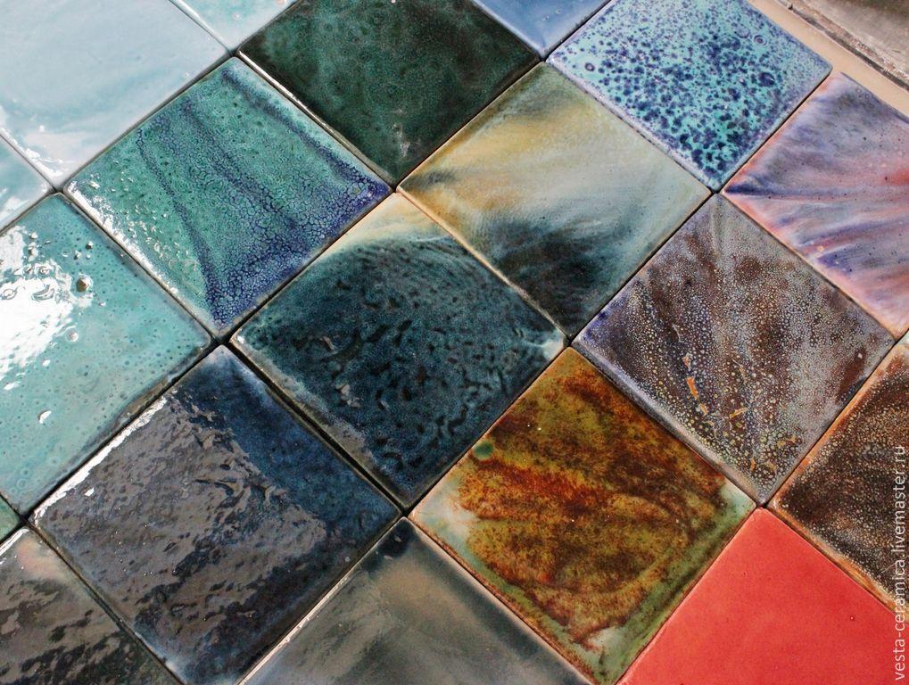 Encaustic tile 'Majolica', Tile, Moscow,  Фото №1