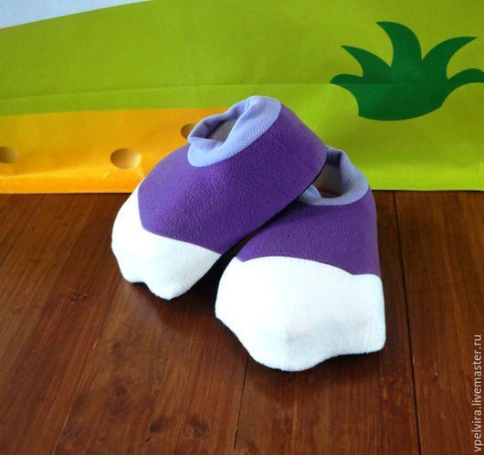 Боты Лунтика. Объемная обувь для аниматоров.