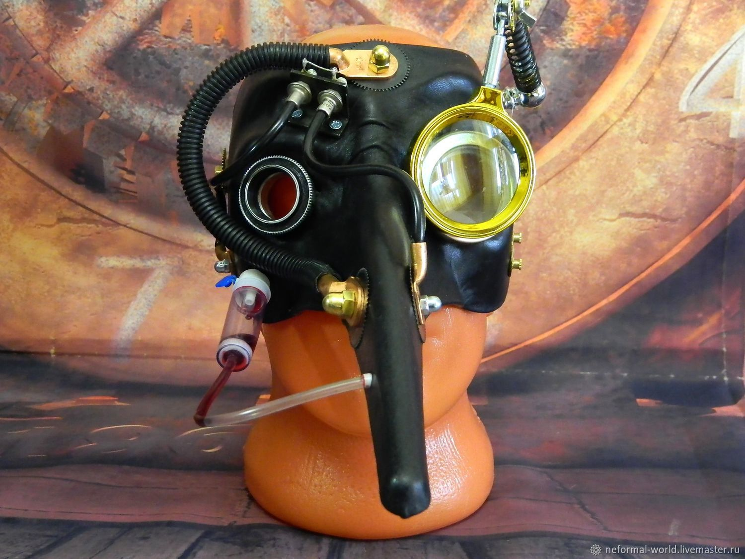 """Steampunk Mask ''Pipets Plague Doctor"""", Subculture Attributes, Saratov,  Фото №1"""