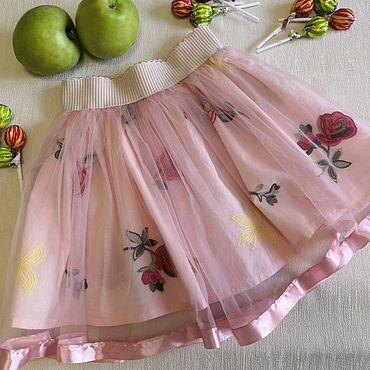 Одежда ручной работы. Ярмарка Мастеров - ручная работа Юбка для девочки. Handmade.