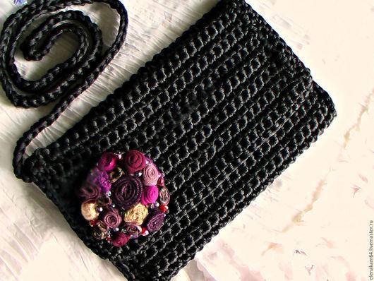Женские сумки ручной работы. Ярмарка Мастеров - ручная работа. Купить вязаная сумочка. Handmade. Клатч, вязаные сумочки